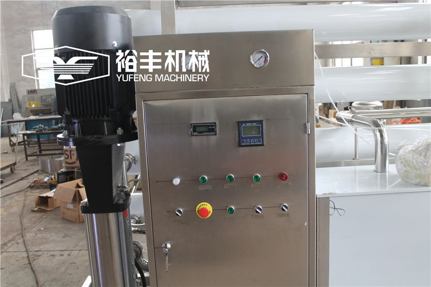 8TPH Reverse Osmosis Water Purification Machine