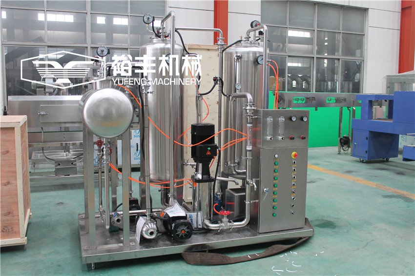 3 Tank Carbonated Drink Mixer
