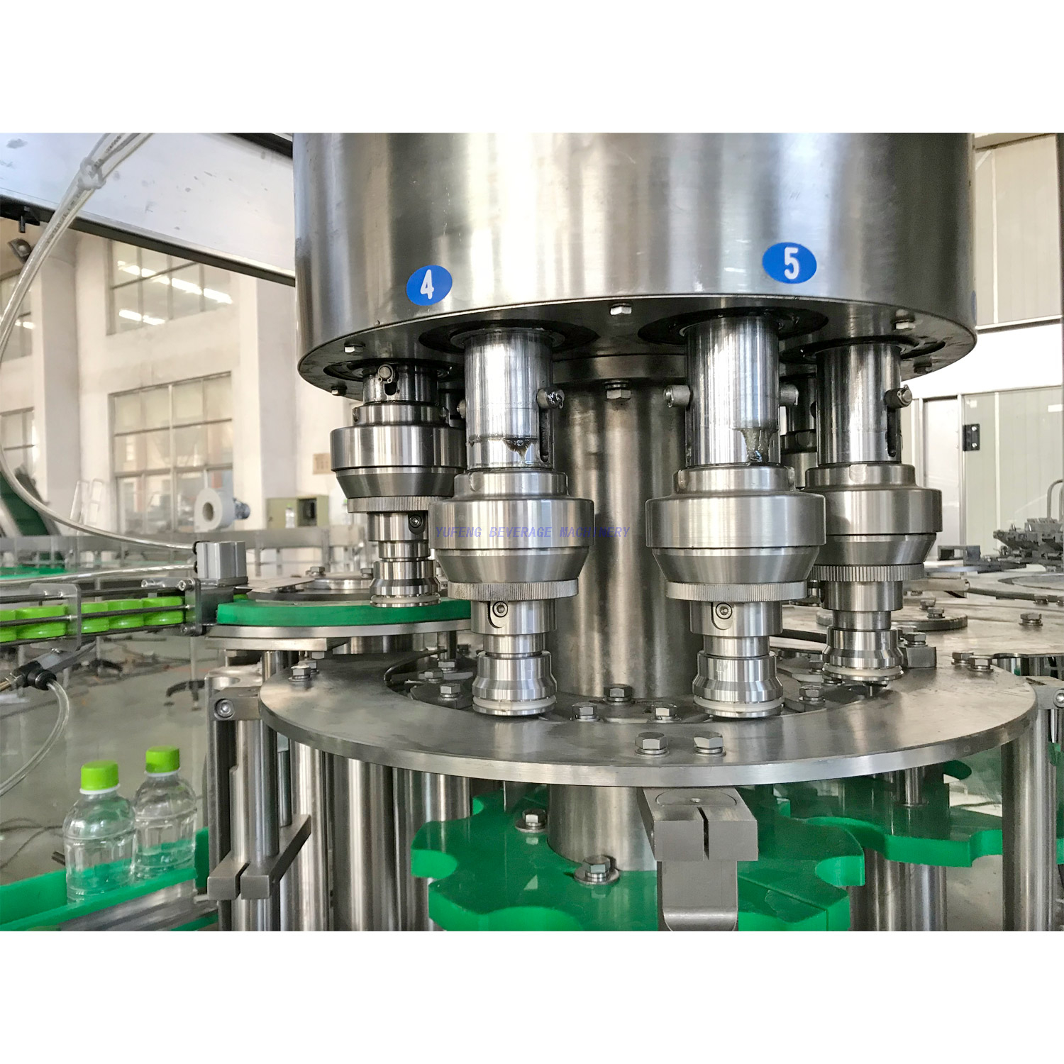 6000BPH Pastic Bottle Juice Filling Machine