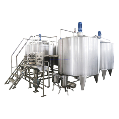 Automatic carboanted Drink Mixing Production Line