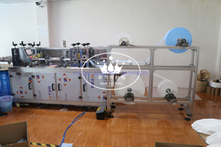 Semi Automatic Medical Face Mask Making machine