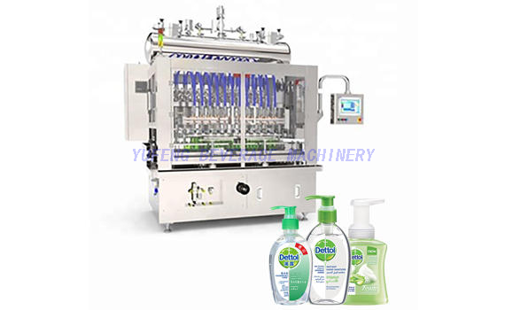 Hand Wash Sanitizer Filling Machine