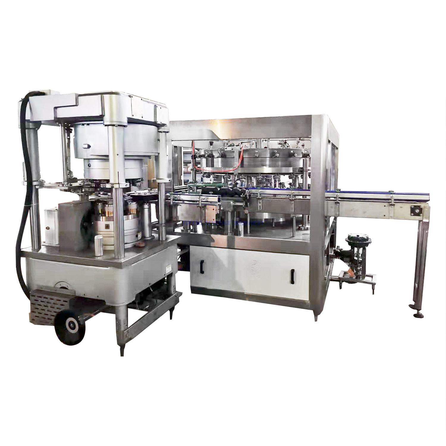 12000CPH Carbonated drink Canning Machine