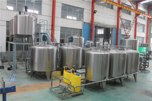 Complete Juice Mixing Production Line
