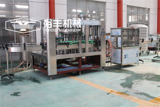 Monoblock 3 In 1 Bottled Beer Filling Machine