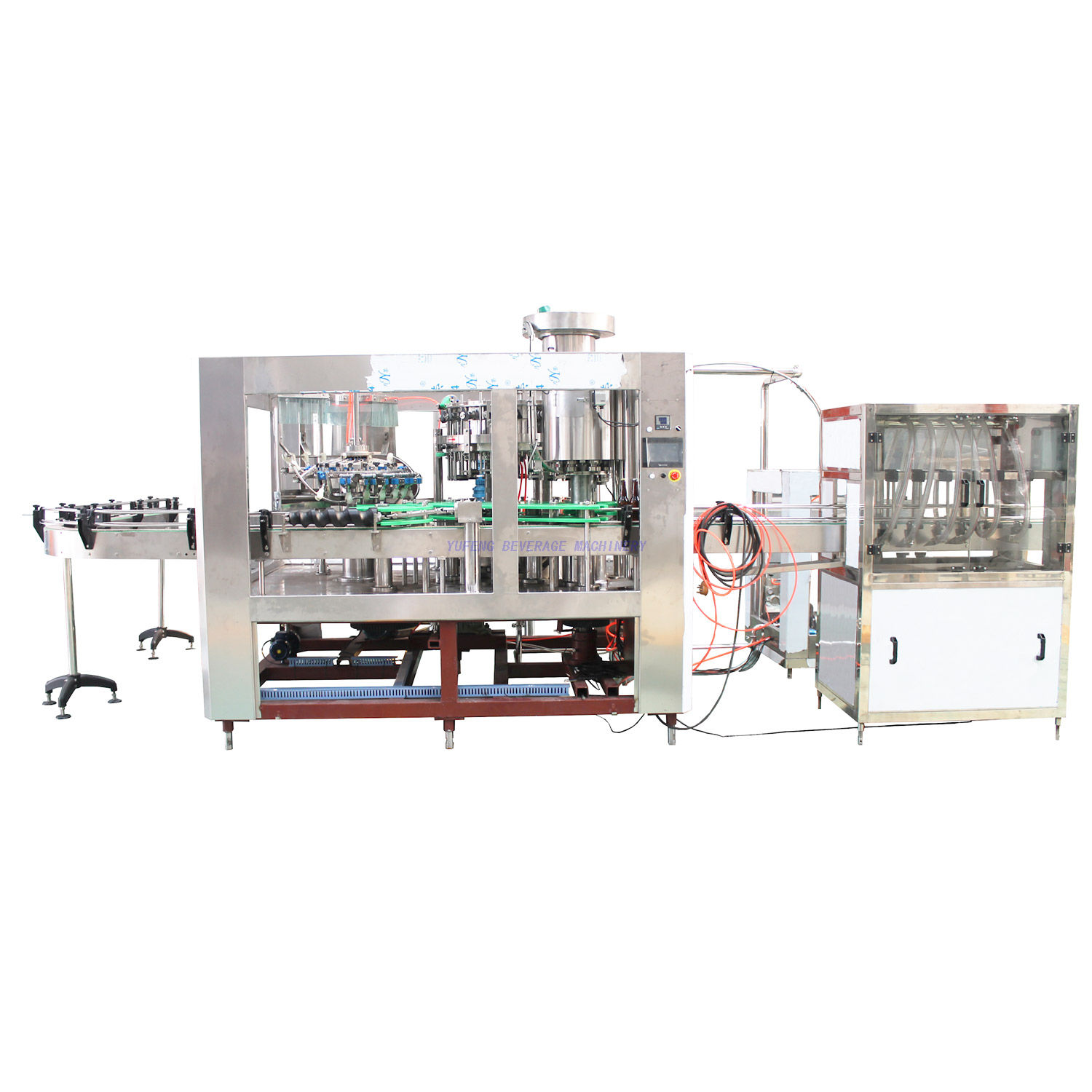 1800BPH Beer Bottle Filling Machine