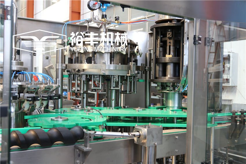 Beer Glass Bottle Filling Machine (Crown Cap)